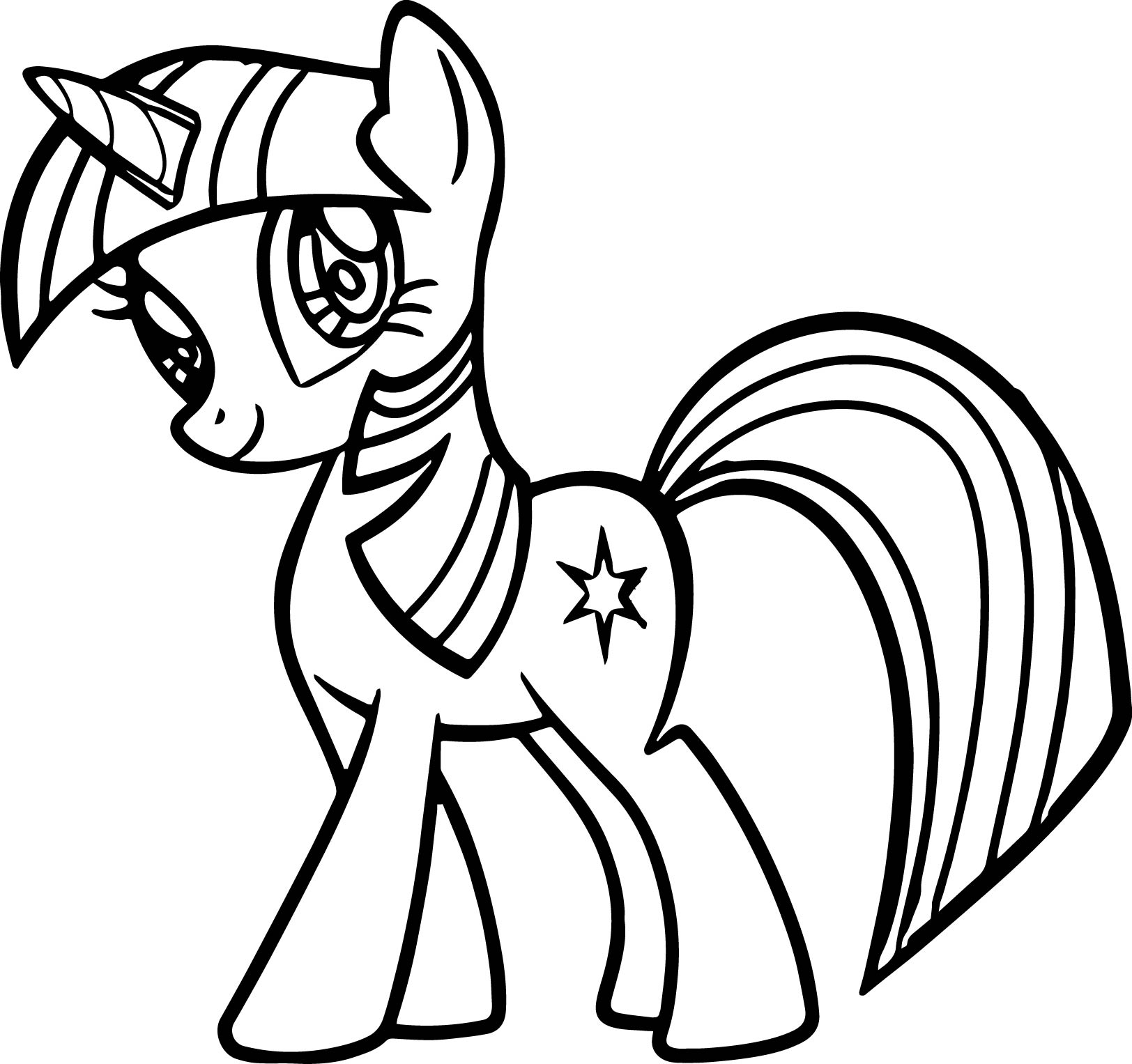 My Little Pony Twilight Coloring Pages