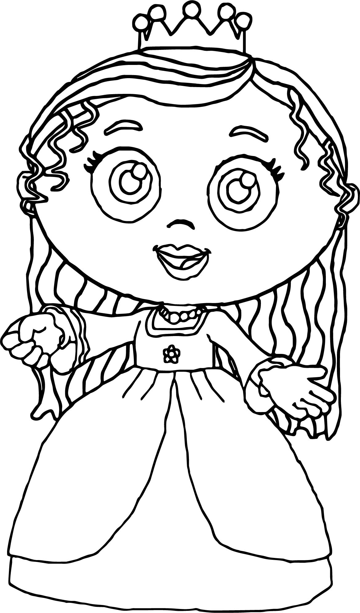 Princess Pea Super Why Coloring Page Wecoloringpage