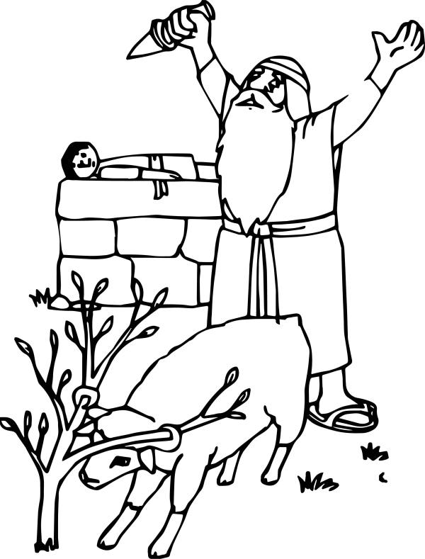 abraham and sarah coloring pages # 17