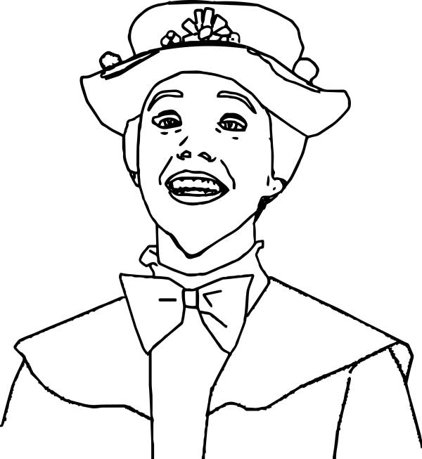 mary poppins coloring pages # 59