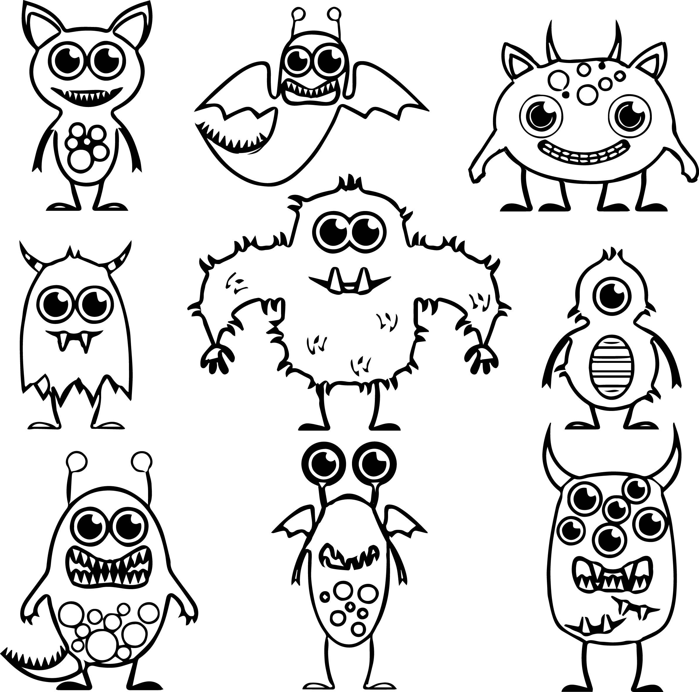 Coloring Pages Aliens
