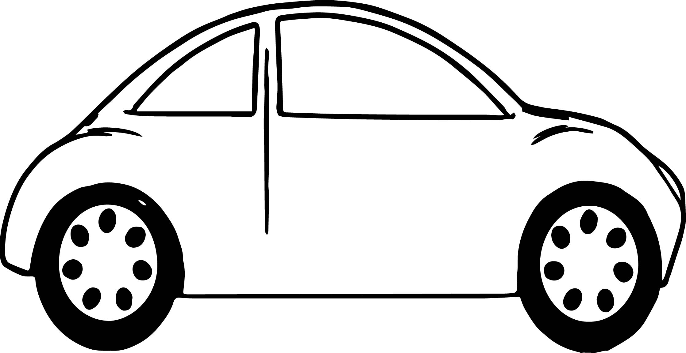 Toy Car Beetle Coloring Page Wecoloringpage