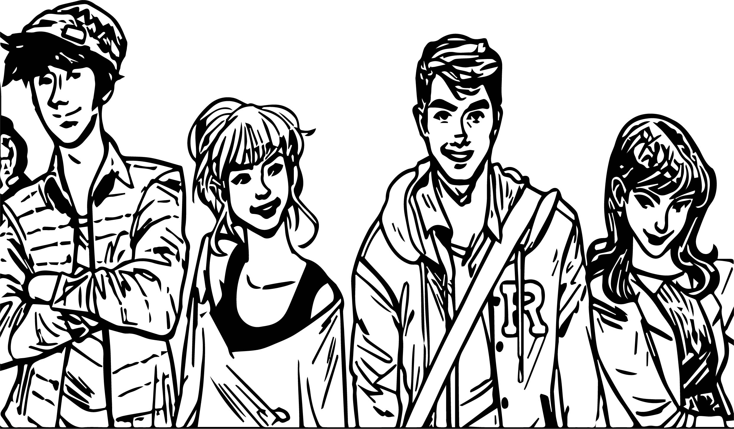 riverdale veronica coloring page