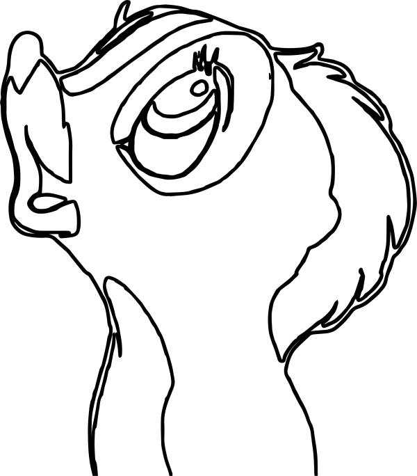 skunk coloring pages # 54