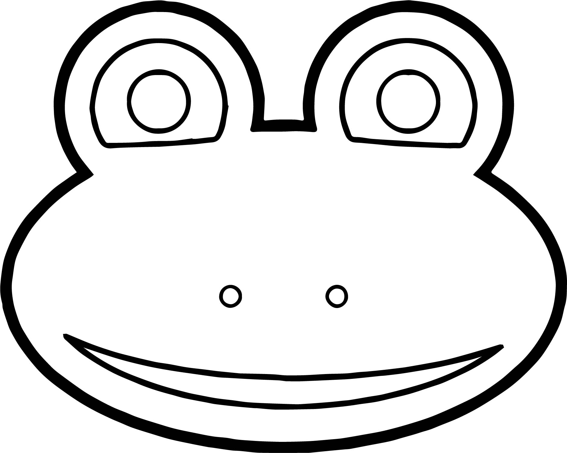List of Frog Face Coloring Page Pict - Best Pictures