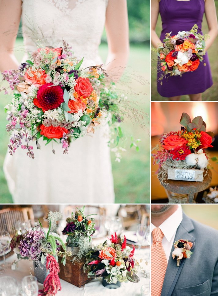 October Wedding Colors 2017