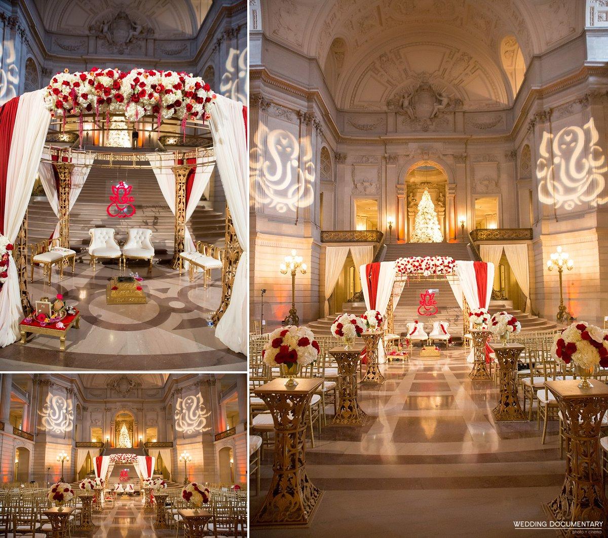 Typical Hindu Wedding Reception