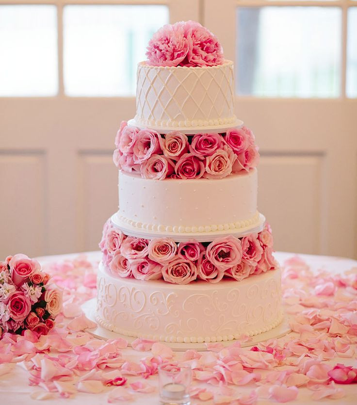 9 Beautiful Wedding Cake Ideas in 2018   WeddingPlanner co uk Floral wedding cake  2018 wedding cake trends