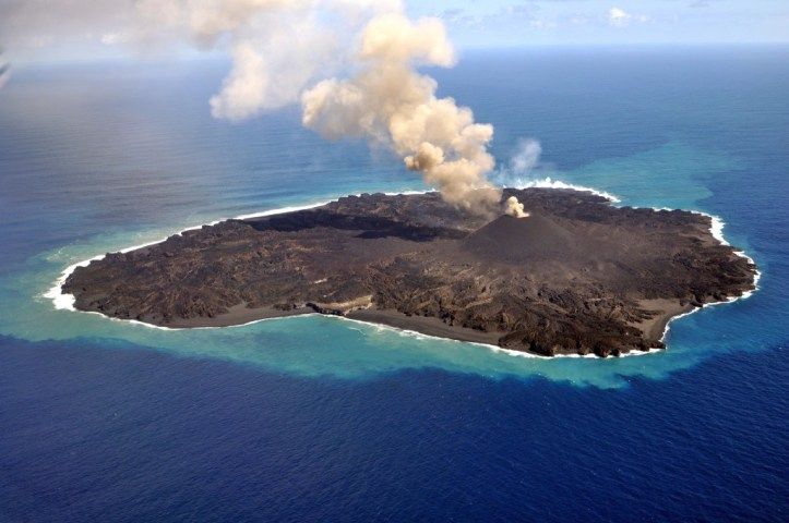 Nishinoshima – The Pacific Ring of Fire's new Volcanic ...