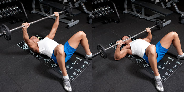 Floor Bench Press Weight Training Exercises 4 You