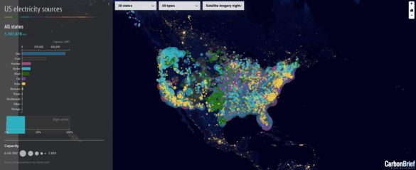 An interactive map that shows how the US generates electricity     Leave a Reply Cancel reply
