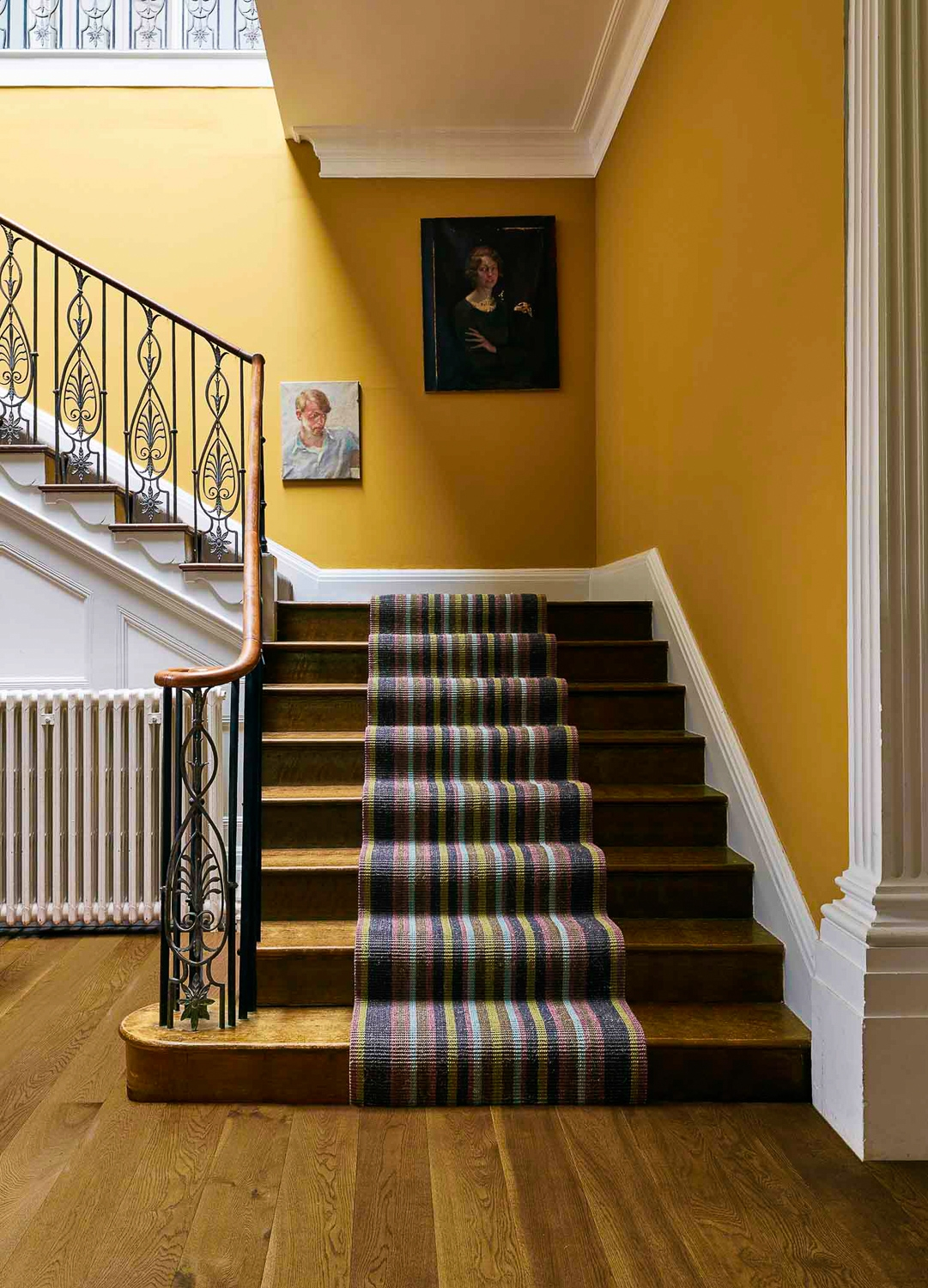 7 Lessons Learned From Our First Hallway Renovation Well I Guess   Stair Wall Colour Design   Wood Wall   Before And After   Room Wall   Hall Colour Combination   Family