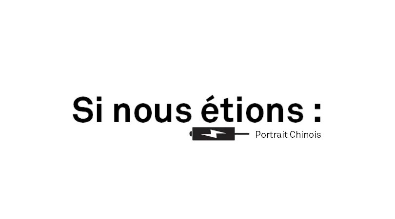 Le Portrait Chinois De Welock Publié Sur Le Site Tokster
