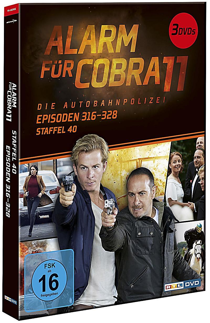 Alarm für Cobra 11 - Staffel 40 DVD bei Weltbild.de bestellen
