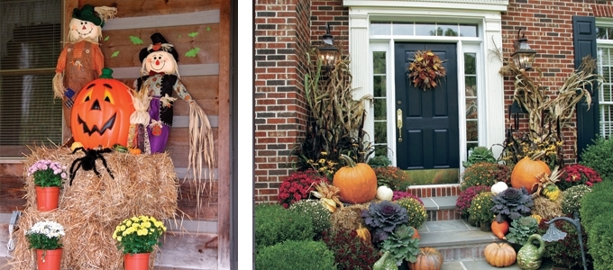 Fall Outdoor Decorating Ideas 2013