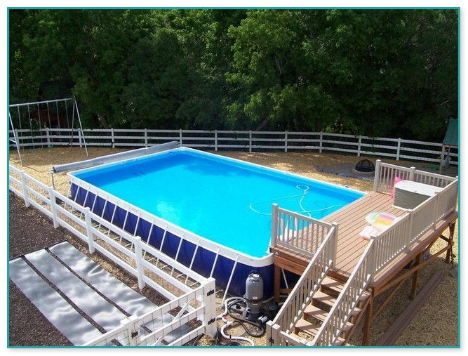 Portable Deck For Above Ground Pool