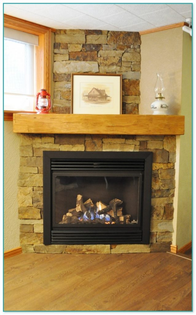 Decorating A Stone Fireplace Mantel