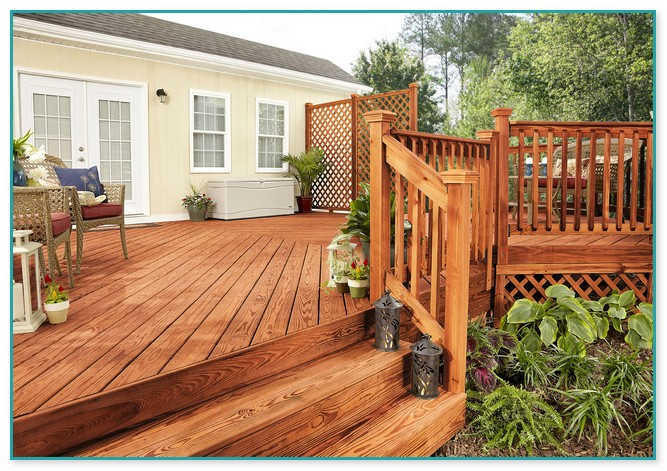 Best Stain Color For Cedar Deck