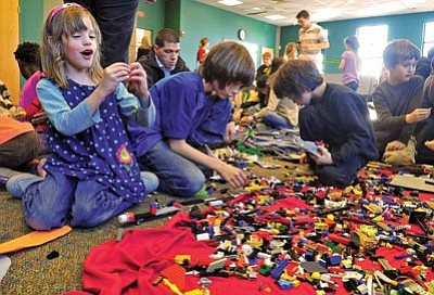 Building blocks of learning  Lego Expo at Prescott Public Library     Matt Hinshaw The Daily Courier br    br