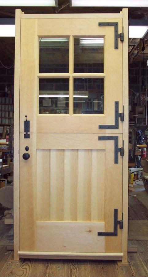Custom Designed Doors For Log Home