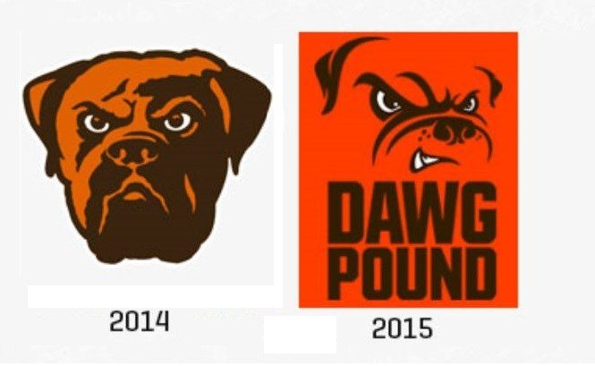 Browns unveil new logo, Valley fans have mixed reviews ...