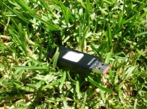 Found flash drive