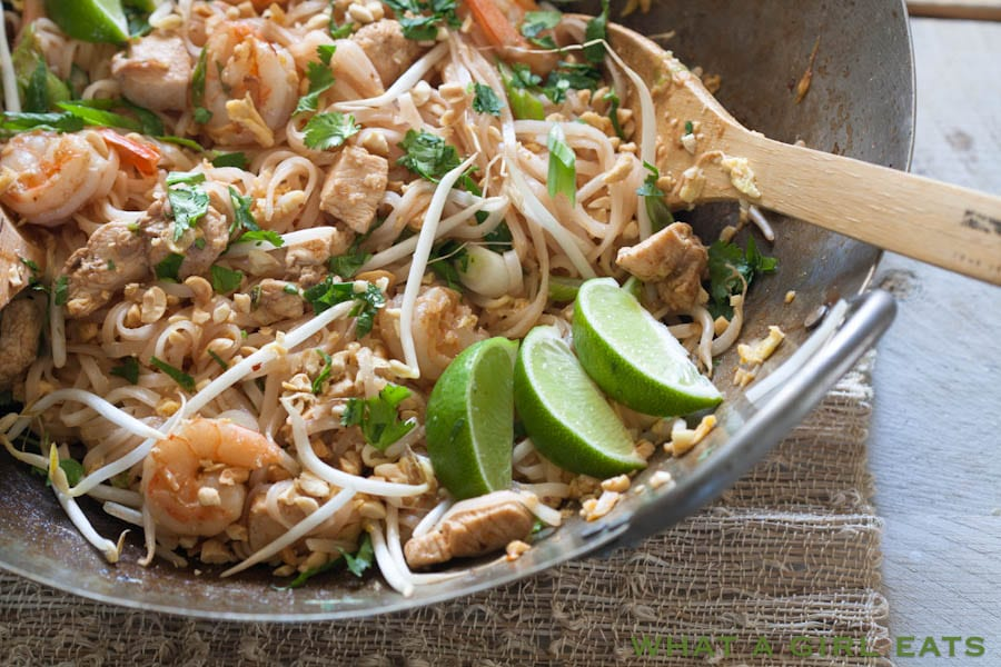 Quick and Easy Pad Thai | What a Girl Eats