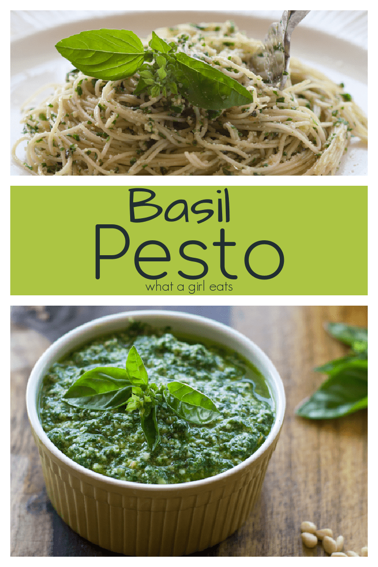 Fresh basil pesto is an easy and healthy dish perfect with pasta, in sandwiches or on pizza.