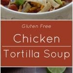 Chicken Tortilla Soup Gluten Free