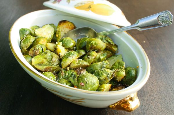 Top 10 Healthiest Dishes Of 2016. Roasted Brussels sprouts with bacon and pecans is a delicious, flavor packed, and easy to make side dish. Get the recipe from @whatagirleats