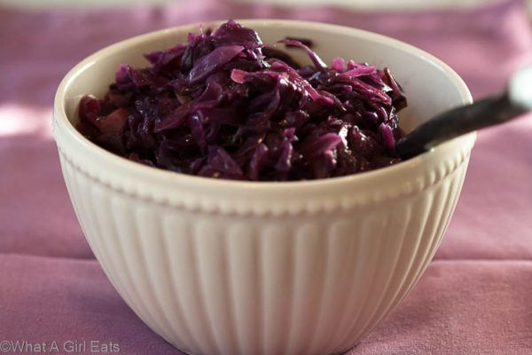 Braised Swedish Red Cabbage   What a Girl Eats