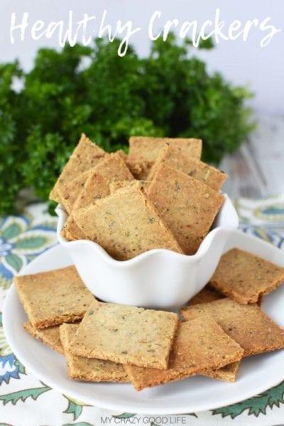 healthy herb cracker