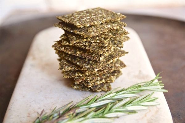 kale crackers tasting page