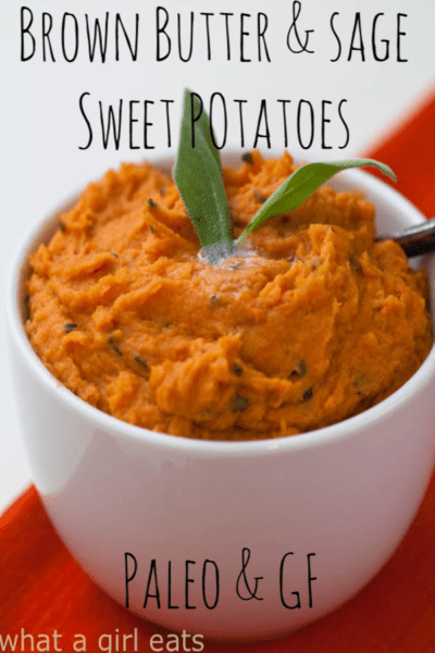 Browned butter sweet potatoes with sage pin