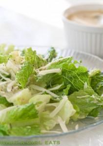 Classic Caesar Salad.
