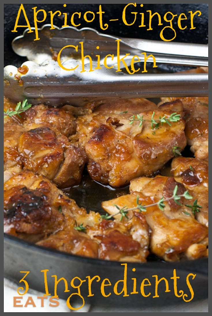 Apricot ginger chicken pin