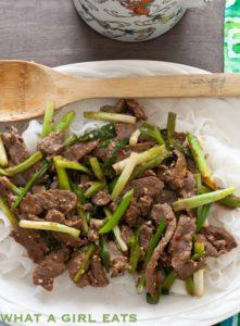 30 Minute Mongolian Beef