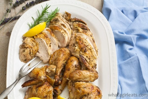 Roasted Chicken top half