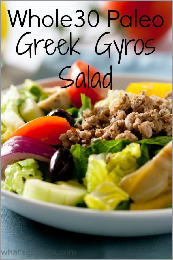 Greek Gyros salad