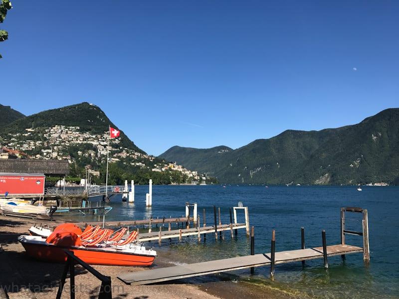 Lake Lugano Lugano And Bellinzona Switzerland; What To Do In Two Days