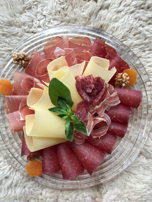 Valais meat platter.