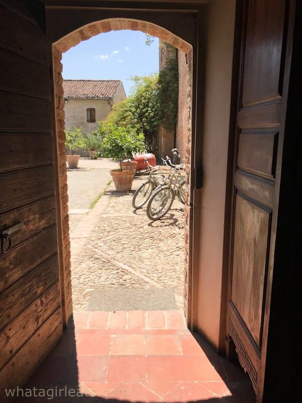 Entrance to Antica Corte Pallavicina