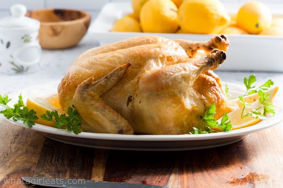 Lemon Roasted Chicken