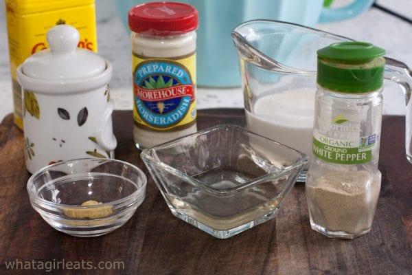 horseradish sauce ingredients