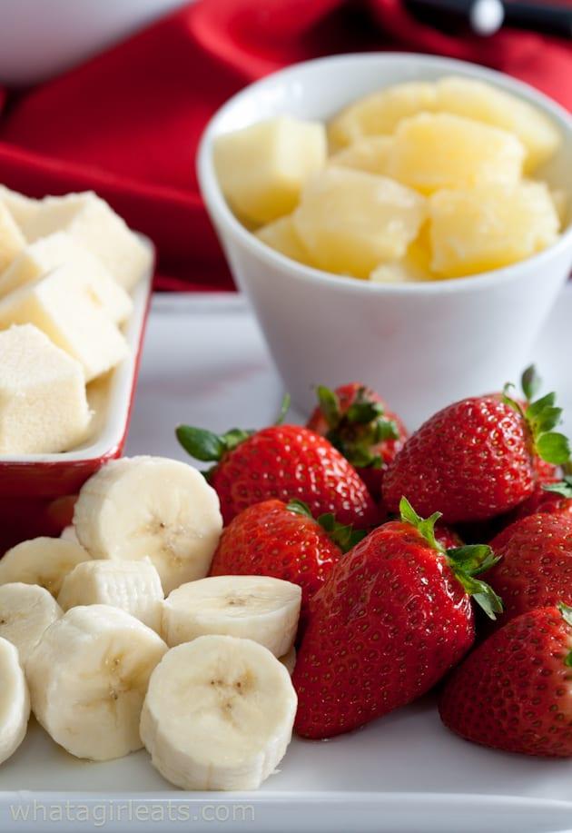 fruit for fondue