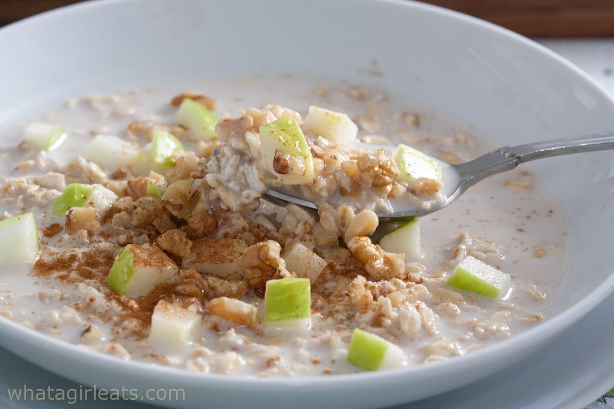 bircher muesli overnight oats