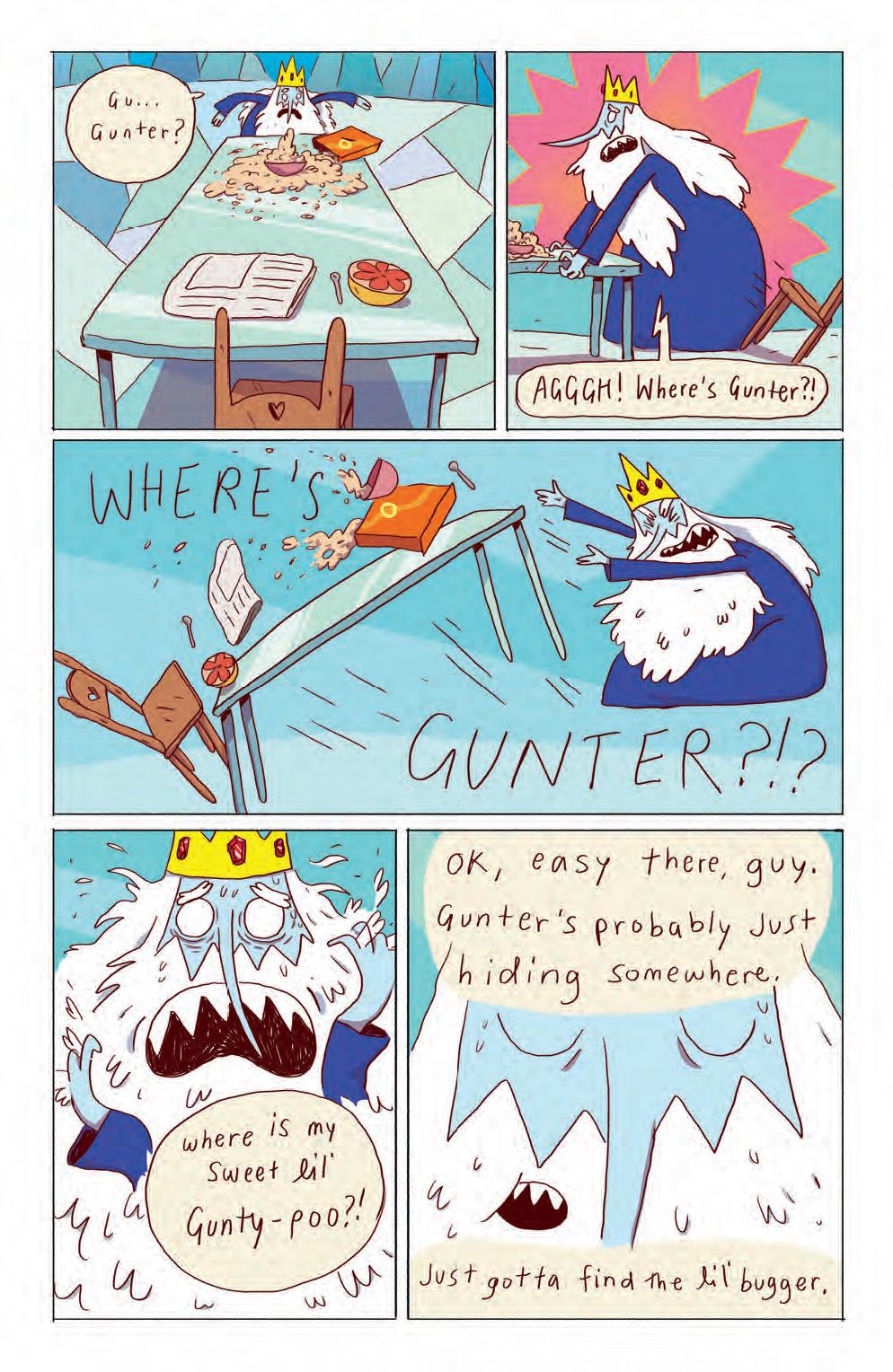 Ice King Gets His Due What Cha Reading