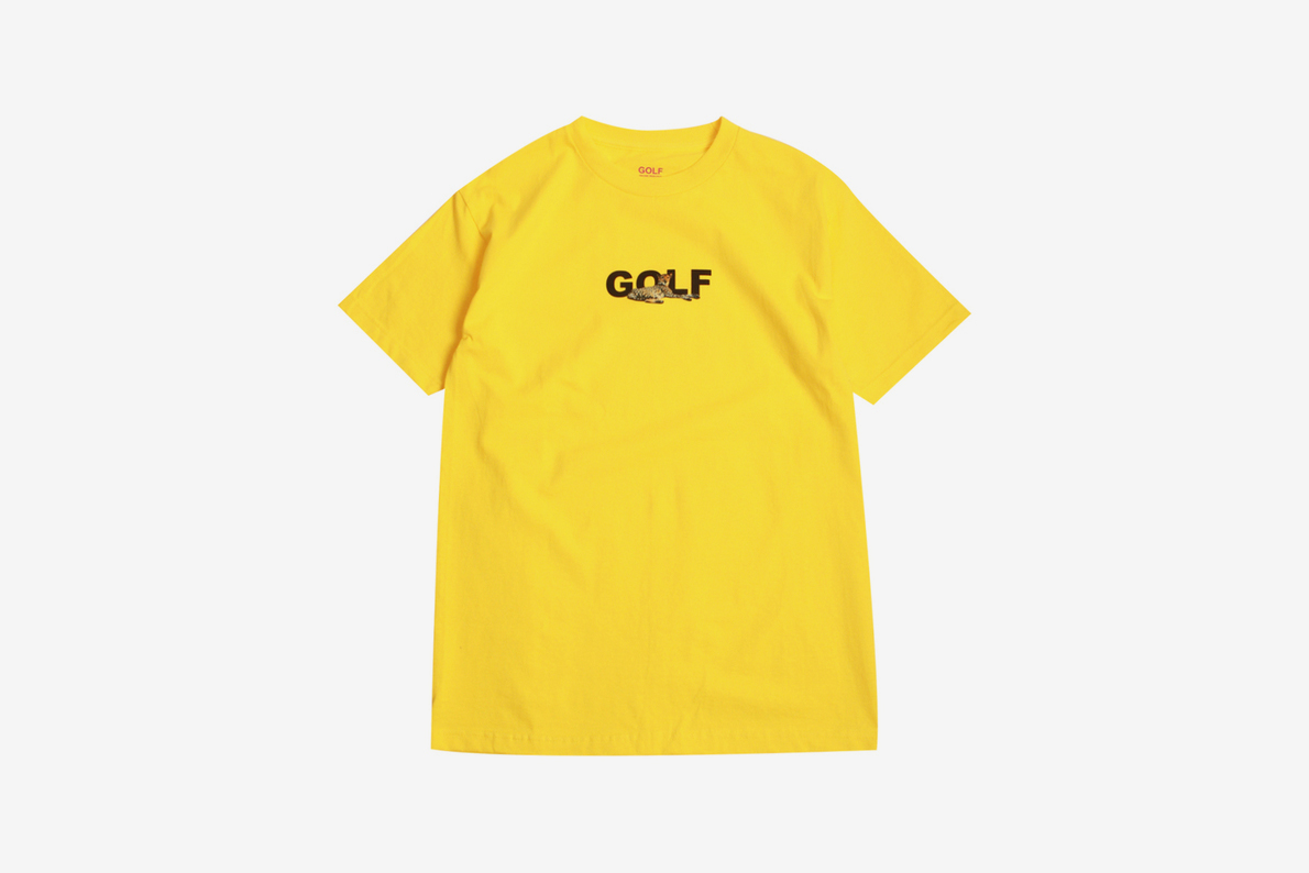 Golf Wang GOLF Cheetah T-Shirt   What Drops Now