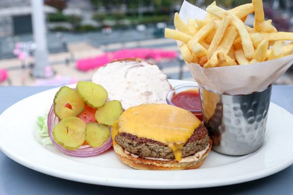 Fresh Order Tuna Burger