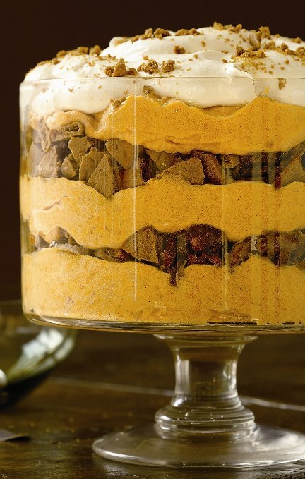 Pumpkin Mousse Trifle Trifle Recipe Whats Cooking America